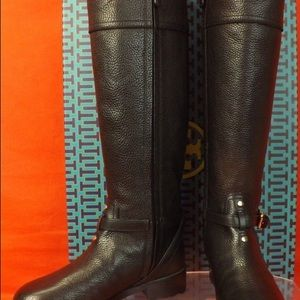 New! Tory Burch Teresa riding boots size 8